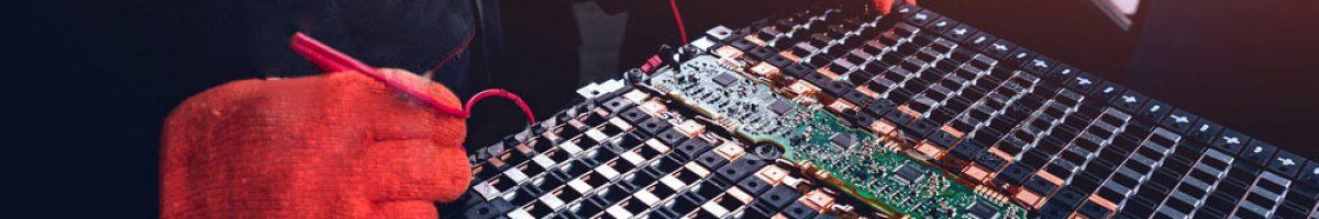 Диагностика и ремонт батареи электромобилей и гибридов