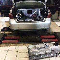 Lexus LS600HL ремонт ВВБ