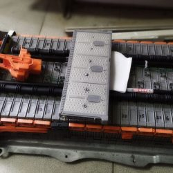 Ремонт батареи тайота приус 20