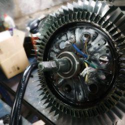 Ремонт и перемотка мотор-колеса
